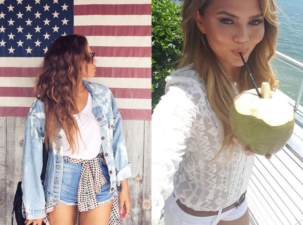 Celebrity Instagrams, Best Of, Chrissy Teigen, Beyonce