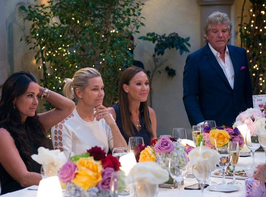 Kyle Richards, Yolanda Foster, Ken Todd, Real Housewives of Beverly Hills