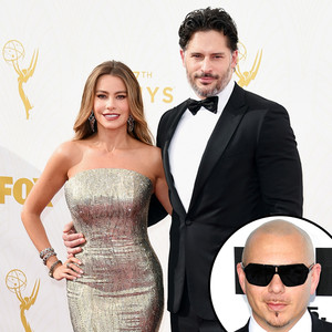 Sofia Vergara, Joe Manganiello, Pitbull