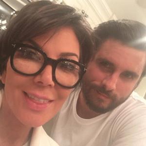 Kris Jenner, Scott Disick
