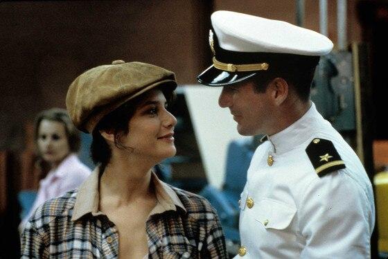 Richard Gere,Debra Winger, An Officer and a Gentleman, Movie Feuds