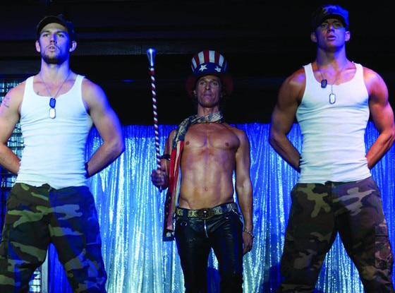 Magic mike, Channing Tatum, Alex Pettyfer, Movie Feuds