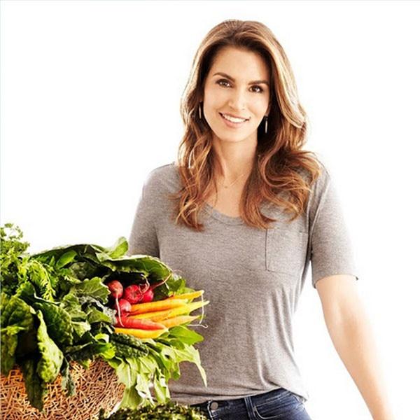 Cindy Crawford, Diet