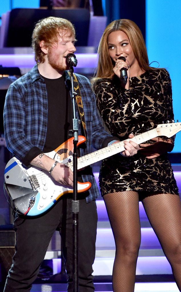 Ed Sheeran, Beyonce