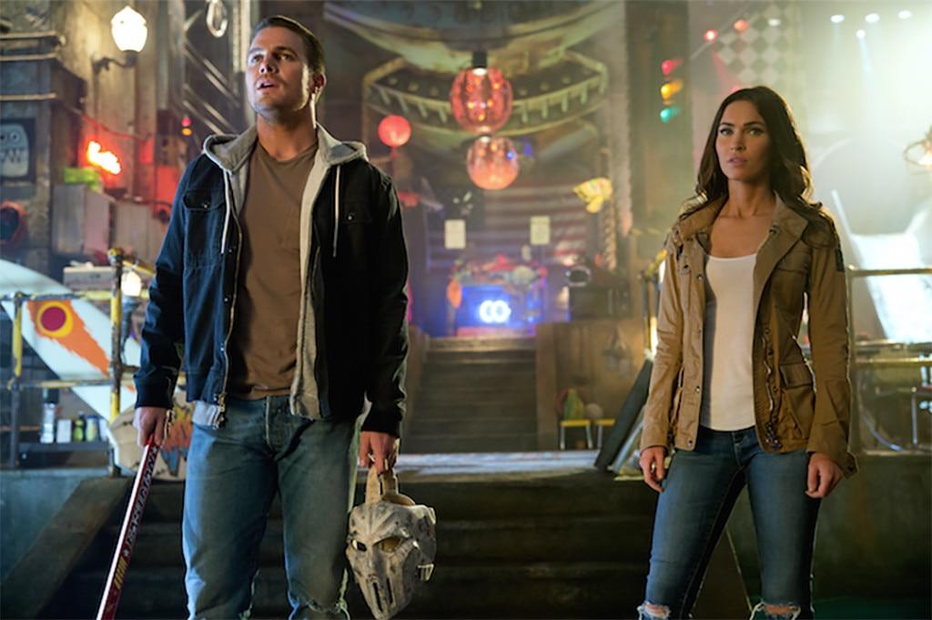 Stephen Amell, Megan Fox, Teenage Mutant Ninja Turtles 2, TMNT 2