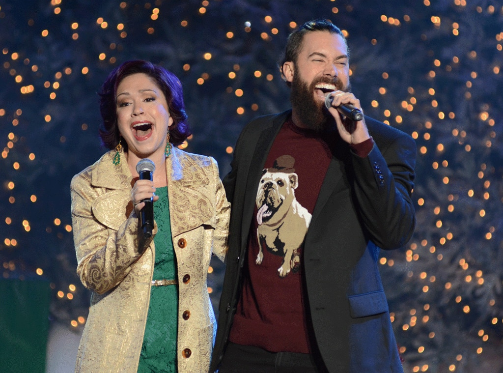 Ace Young, Diana DeGarmo, Christmas 2015