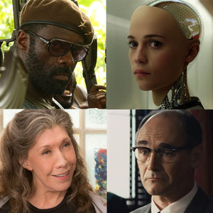 Ex Machina, Bridge of Spies, Grace and Frankie, Beasts of No Nation