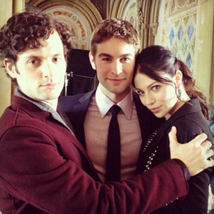 Michelle Trachtenberg, Penn Badgley, Chace Crawford