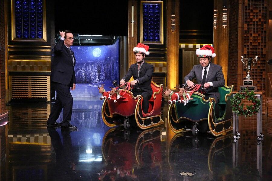 Chris Hemsworth, Jimmy Fallon, The Tonight Show