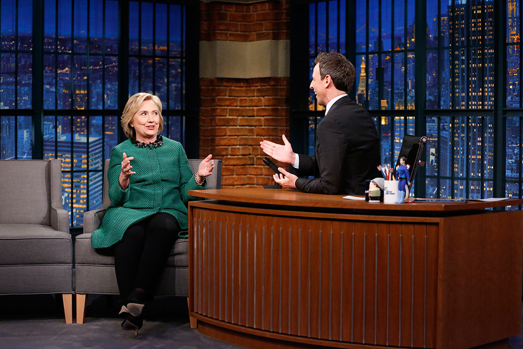 Hillary Clinton, Late Night With Seth Meyers
