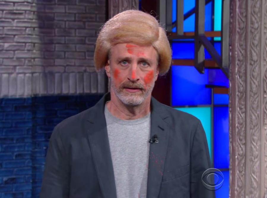 Jon Stewart, Donald Trump, Late Show