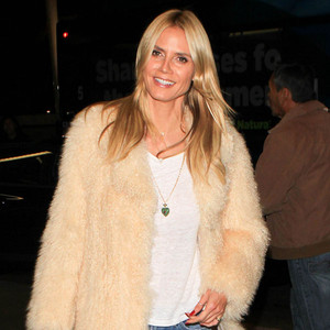 heidi klum poses naked in a block of ice for rankin s less