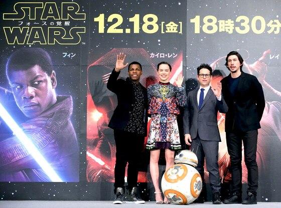 Star Wars, Daisy Ridley, Adam Driver, J.J. Abrams, John Boyega