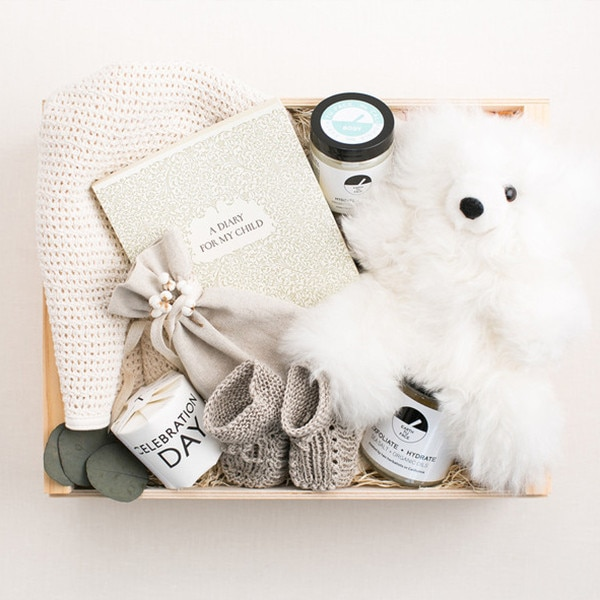 Decorative Baby Gift Box : Kim kardashian gushes over the best baby gift she received