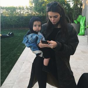Kendall Jenner, Reign Disick, Instagram