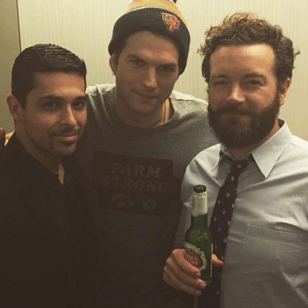 Ashton Kutcher, Wilmer Valderamma, Danny Masterson