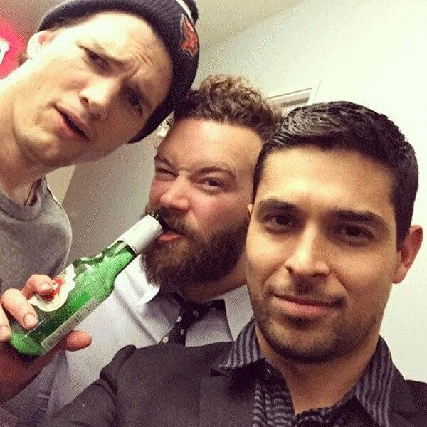 Ashton Kutcher, Danny Masterson, Wilmer Valderrama