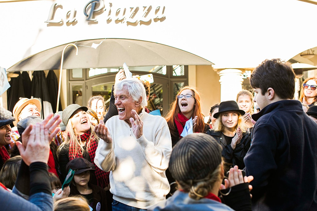 Dick Van Dyke, <i>Mary Poppins</i> Flash Mob, 90th Birthday