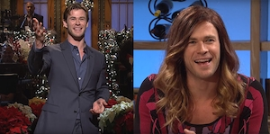 Chris Hemsworth, SNL
