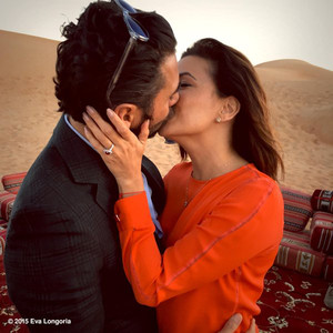 Jose Antonio Baston, Eva Longoria, Engagement