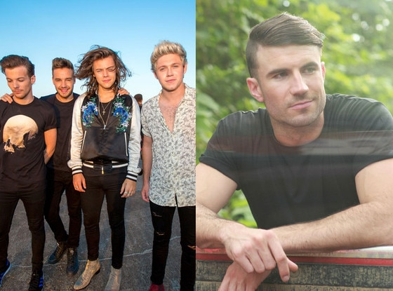 Sam Hunt, One Direction, Celeb of the Year poll