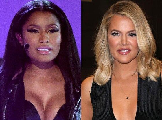 Nicki Minaj, Khole Kardashian, Celeb of the Year poll