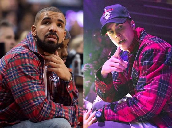 Drake, Justin Bieber, Celeb of the Year Poll