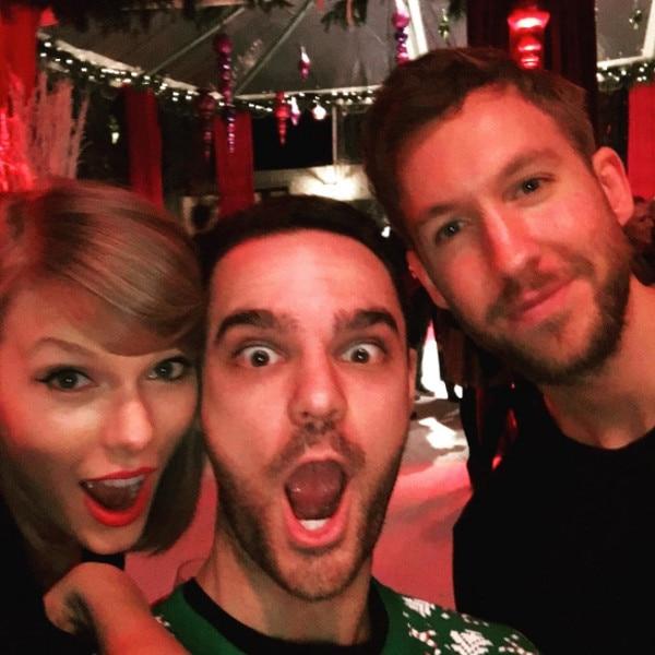 Taylor Swift, Jamie Iovine, Calvin Harris, Instagram