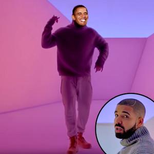 Barak Obama, Drake, Hotline Bling
