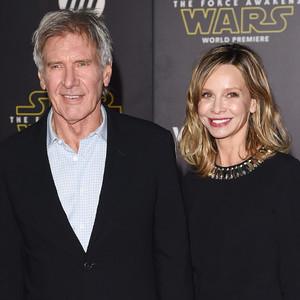 Harrison Ford, Calista Flockheart, Star Wars Premiere
