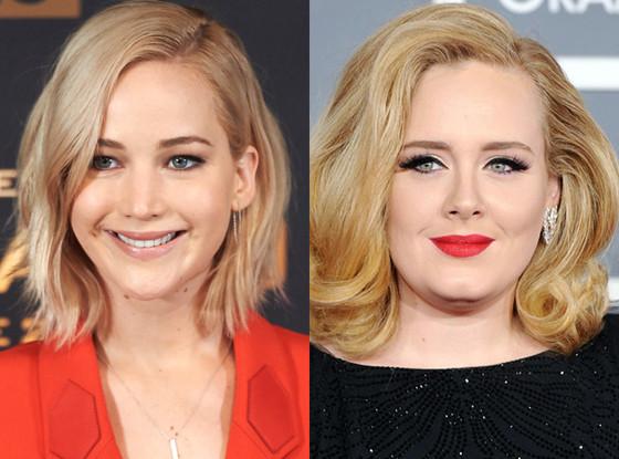 Jennifer Lawrence, Adele