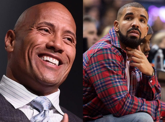 Drake, The Rock, Will Smith, Celeb of the Year Poll