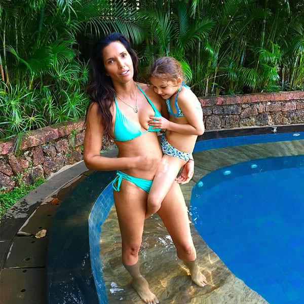 Padma Lakshmi Posts Funny Photo Of Daughter Grabbing Her