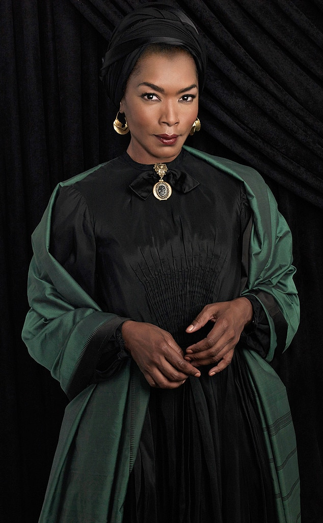 Angela Bassett is getting to know Marie Laveau, her ...