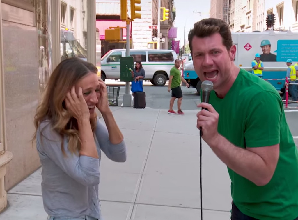Billy on the Street, Billy Eichner, Sarah Jessica Parker