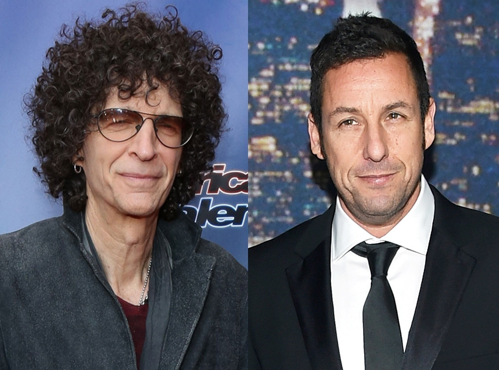 Adam Sandler, Howard Stern
