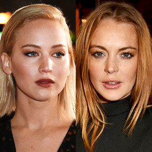 Jennifer Lawrence, Lindsay Lohan