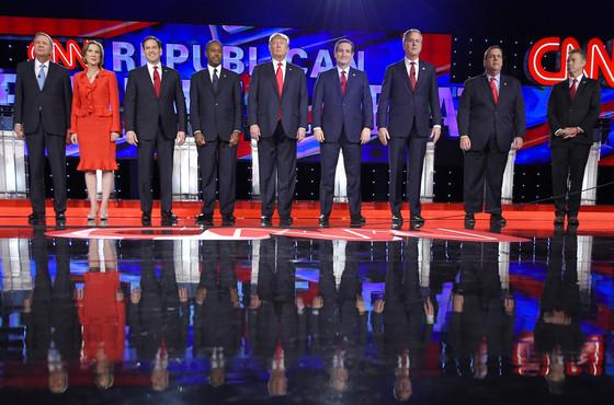 GOP Debate, Candidates