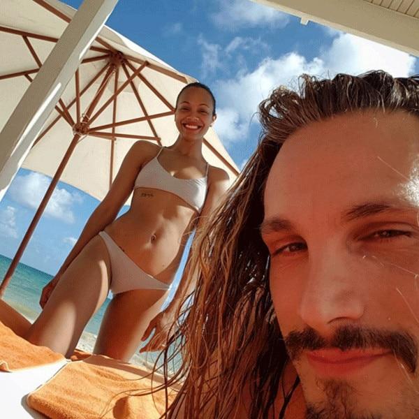 Zoe Saldana, Marco Perego, Instagram