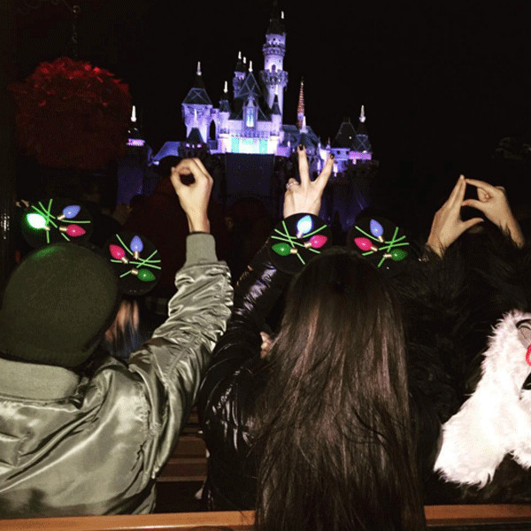 Kourtney Kardashian, Disneyland