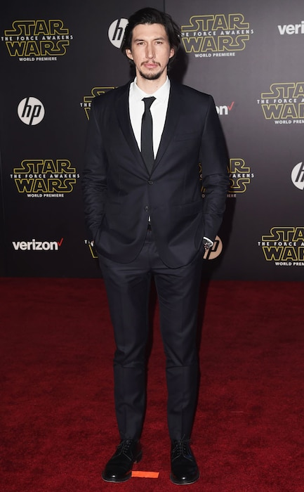 Adam Driver, Star Wars Premiere