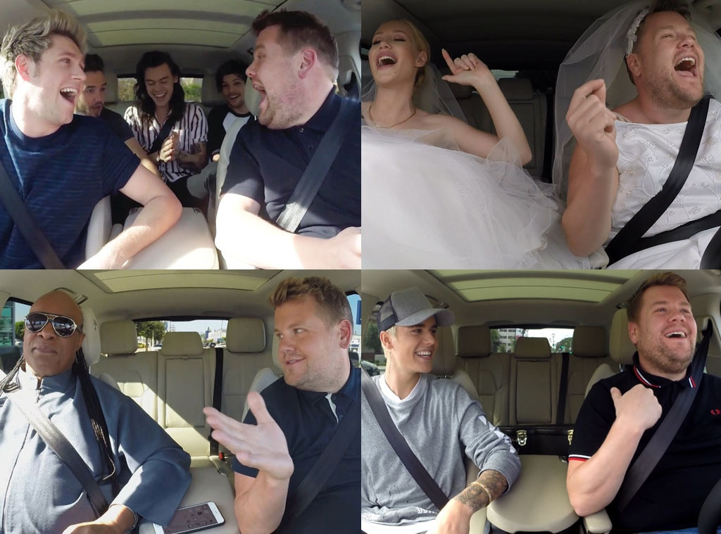 James Corden, Carpool Karaoke
