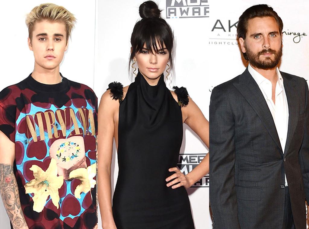 Kendall Jenner, Justin Bieber, Scott Disick