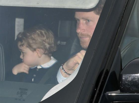 Prince George, Prince Harry