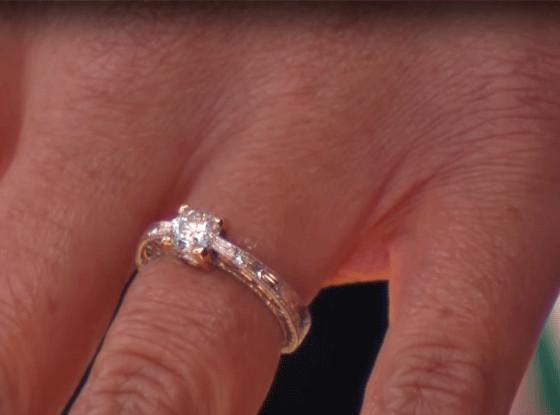 Kelsey Gerckens, Joey Buttitta, Engagement Ring