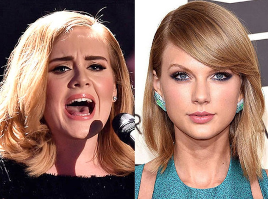 Taylor Swift, Adele, Celeb of the Year poll