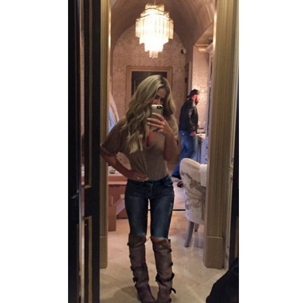Kim Zolciak, Thigh Gap