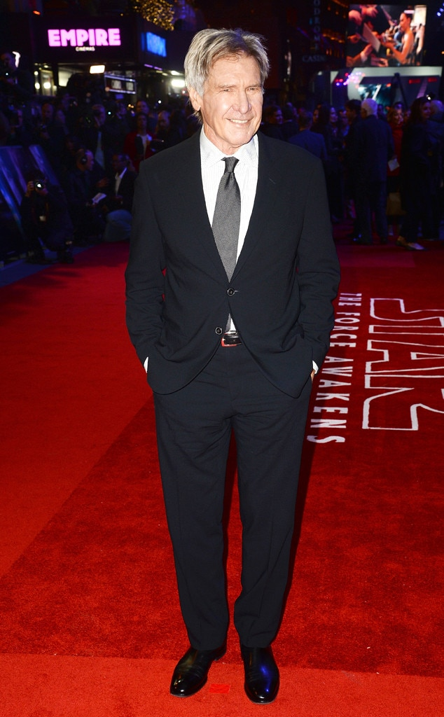 Harrison Ford, Star Wars Premiere, London