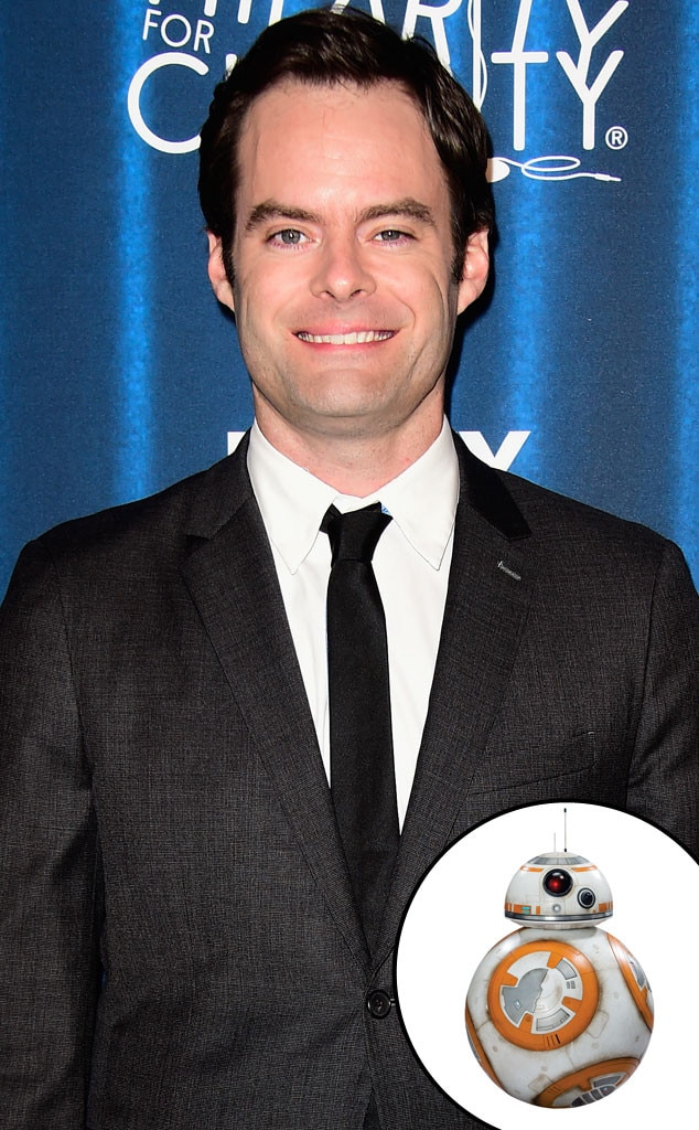 Bill Hader, Star Wars, BB-8