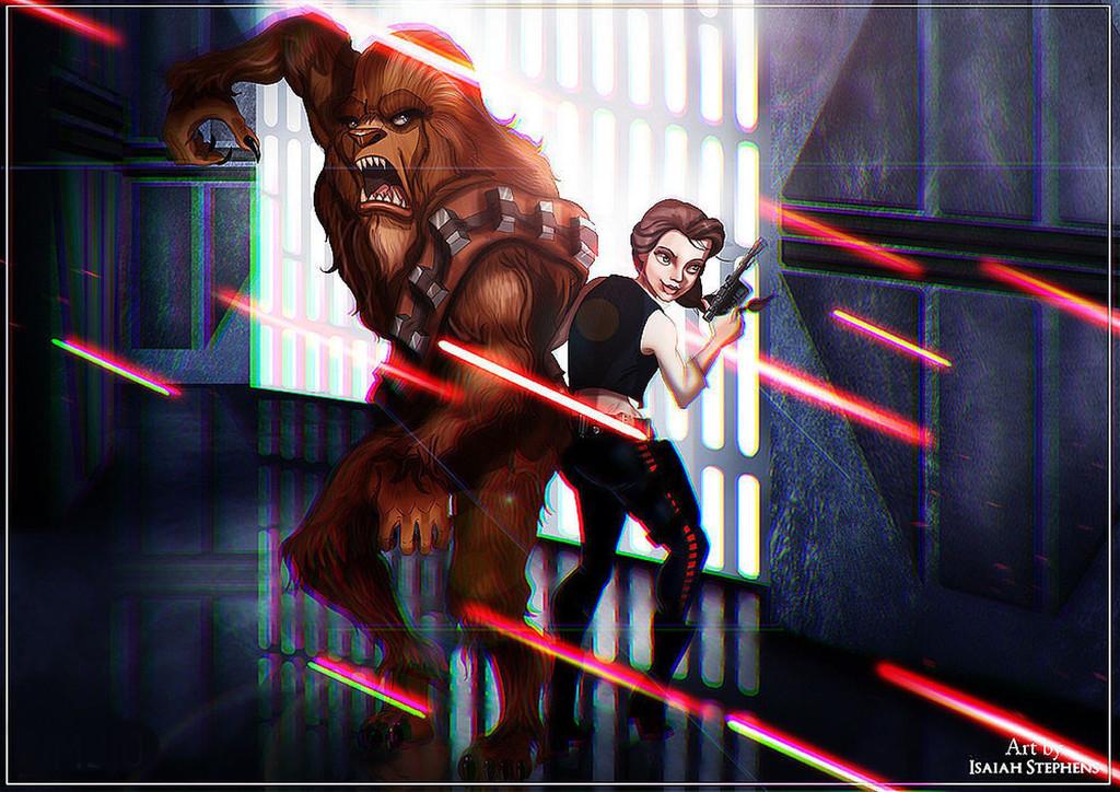 Isasiah Stephens, Star Wars, Disney